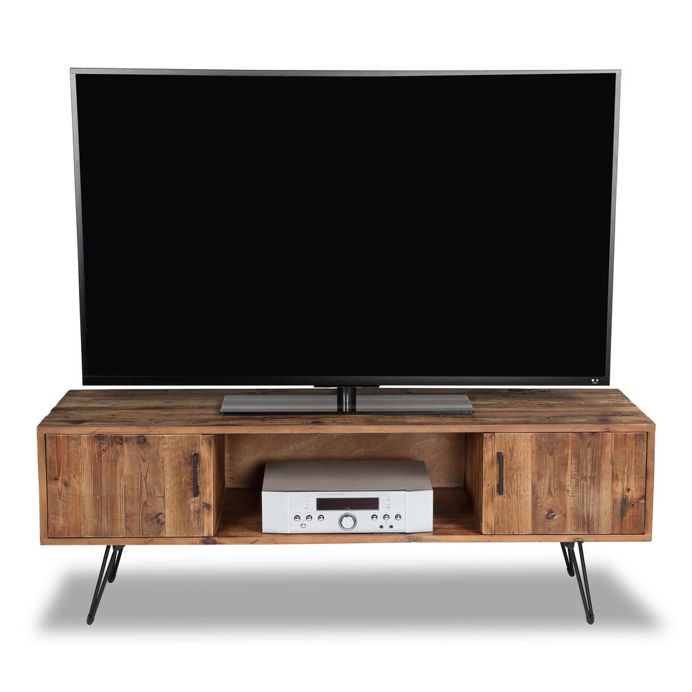 Middleton Natural Wood Media TV Stand