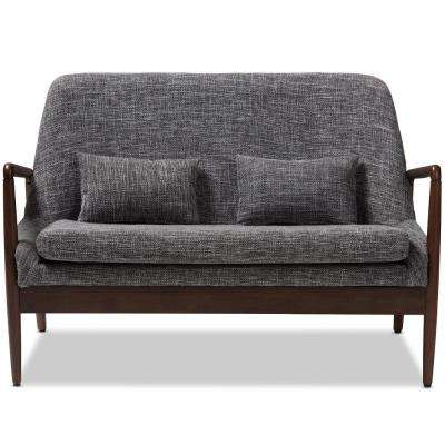 Carter Gray Fabric Loveseat