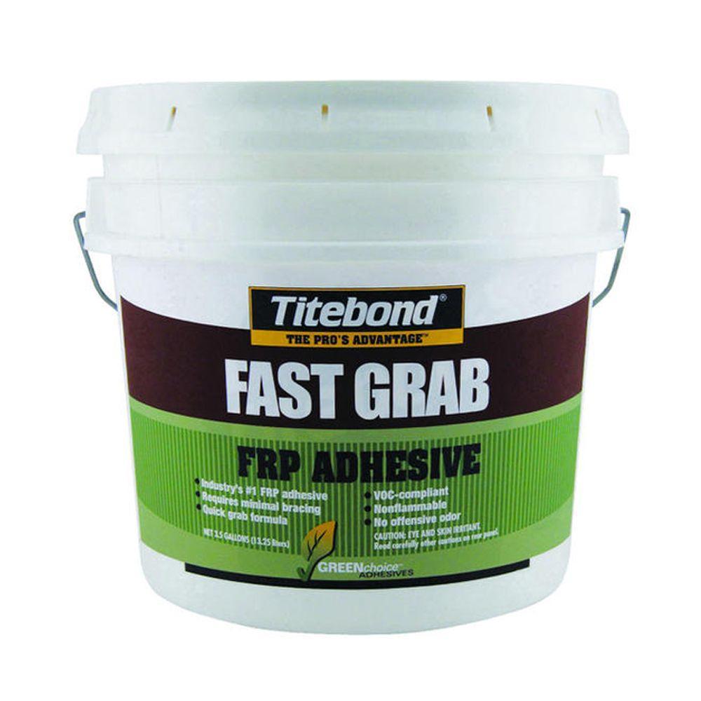 titebond 3 5 gal greenchoice fast grab frp adhesive pail 4059 the