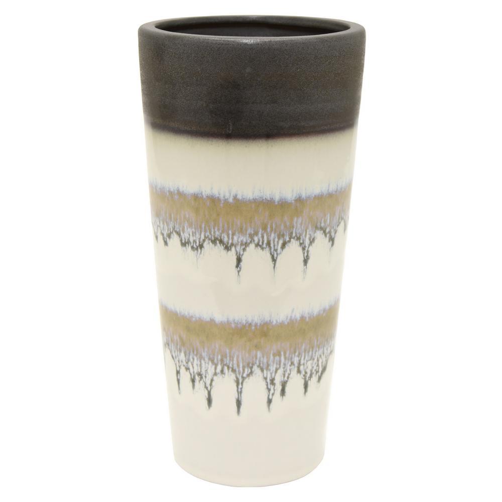 10.75 in. Ceramic Vase