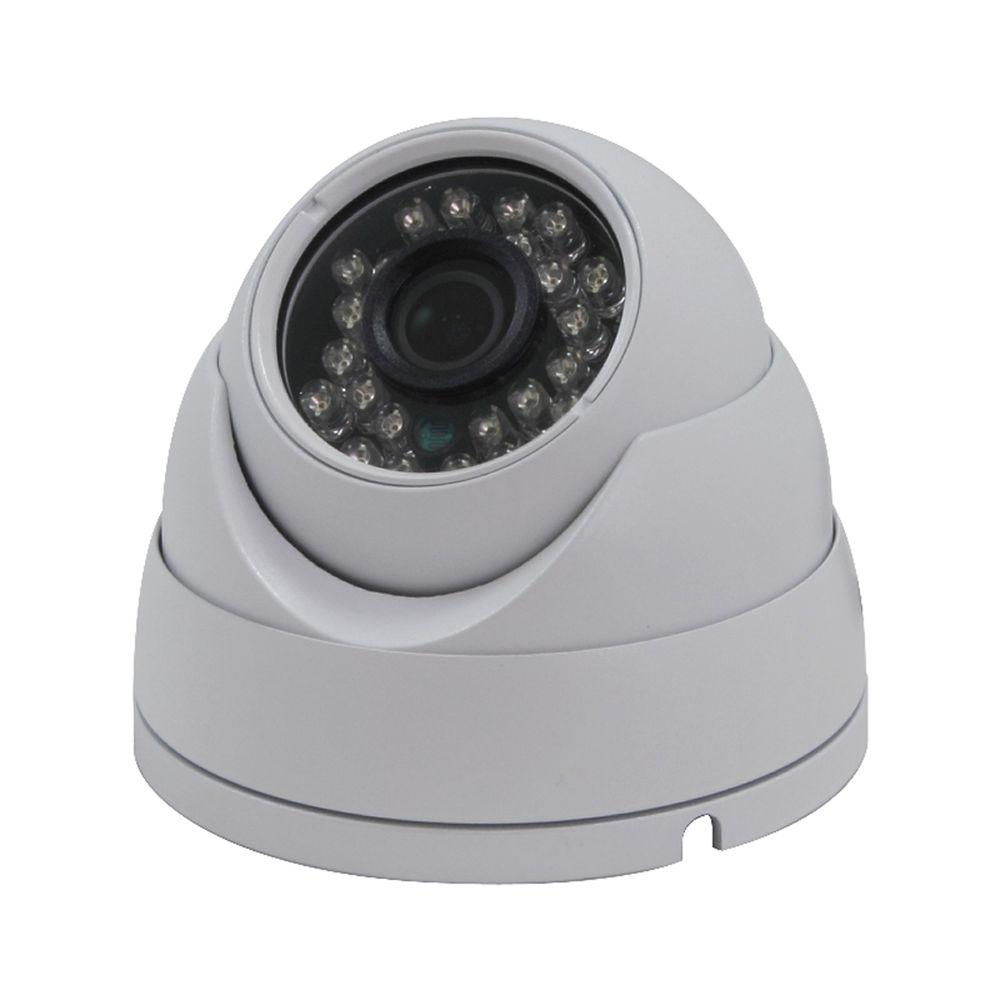 SPT Indoor or Outdoor 720P HD-CVI Vandal Dome Wired Standard Surveillance Camera with 3.6 mm Lens and 23 IR LED