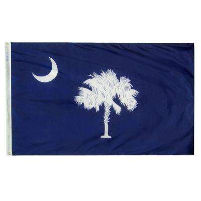 3 ft. x 5 ft. South Carolina State Flag