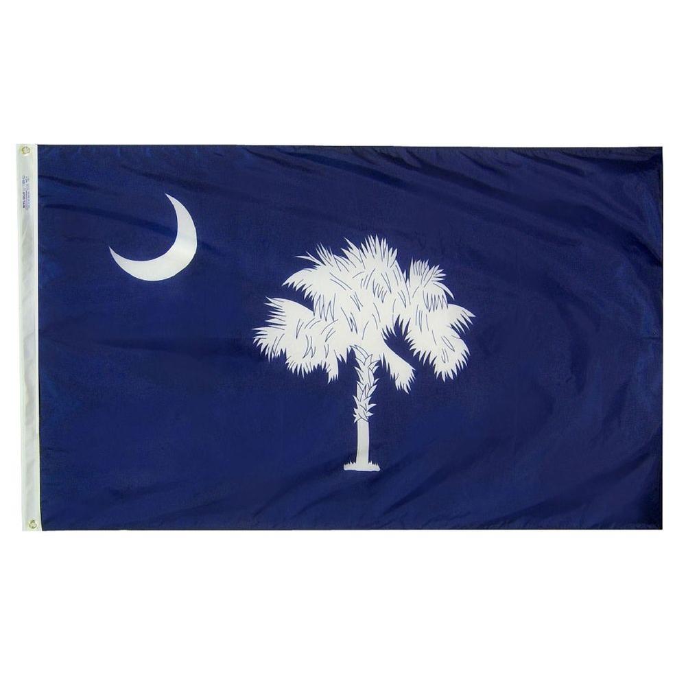 2 ft. x 3 ft. Nylon South Carolina State Flag