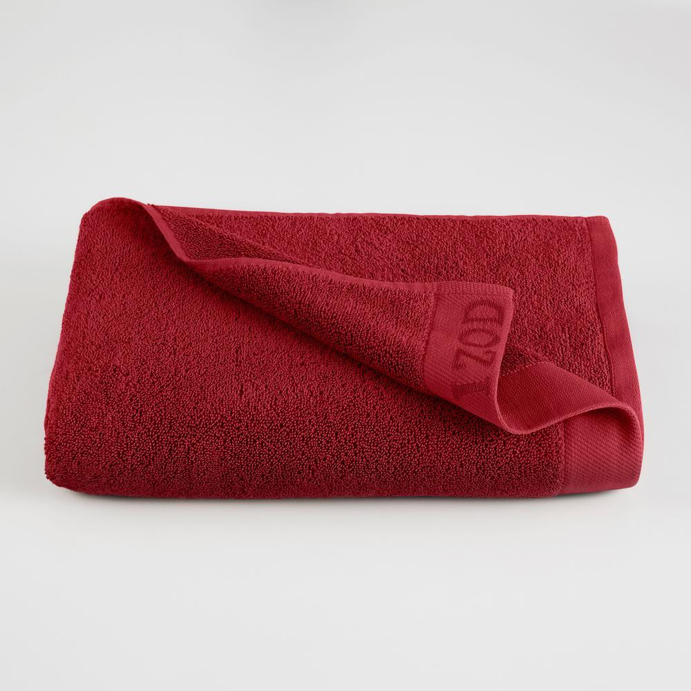 IZOD Classic Egyptian Cotton Bath Towel in Pompei Red 079465022124