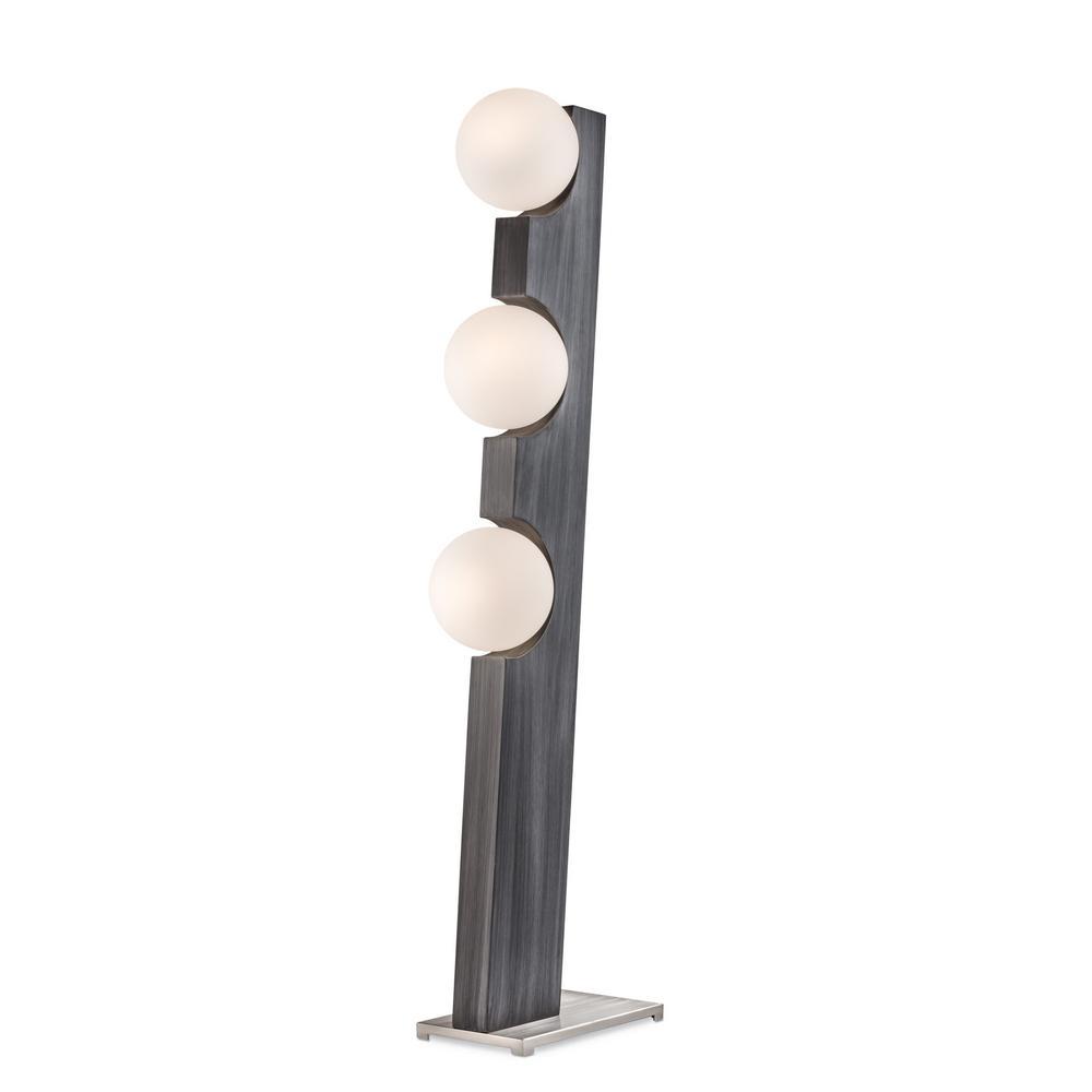 NOVA of California Incline Floor Lamp Charcoal Gray