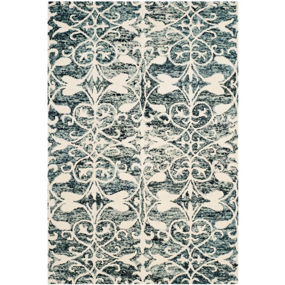 Chatham Charcoal/Ivory 4 ft. x 6 ft. Area Rug