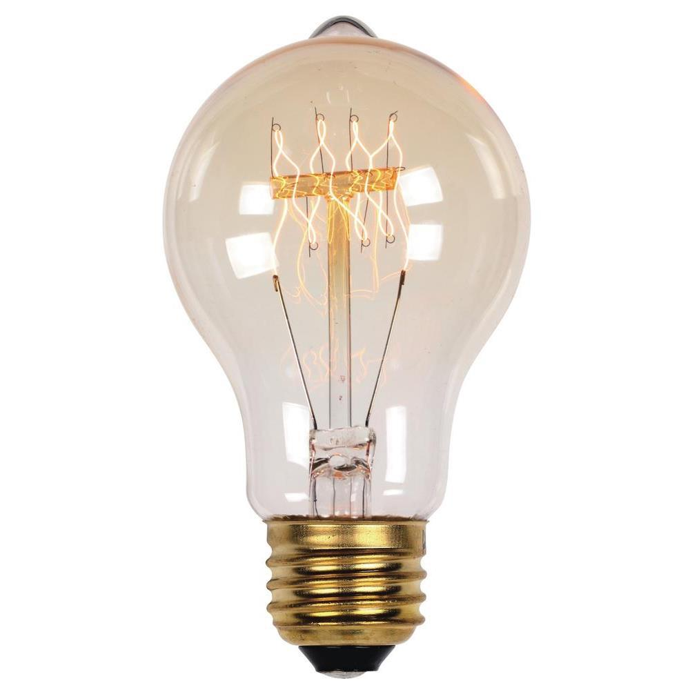 40-Watt Timeless Vintage Inspired Incandescent A19 Light Bulb