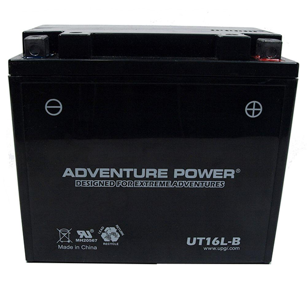 UPG Sealed AGM 12-Volt 17 Ah Capacity D Terminal Battery