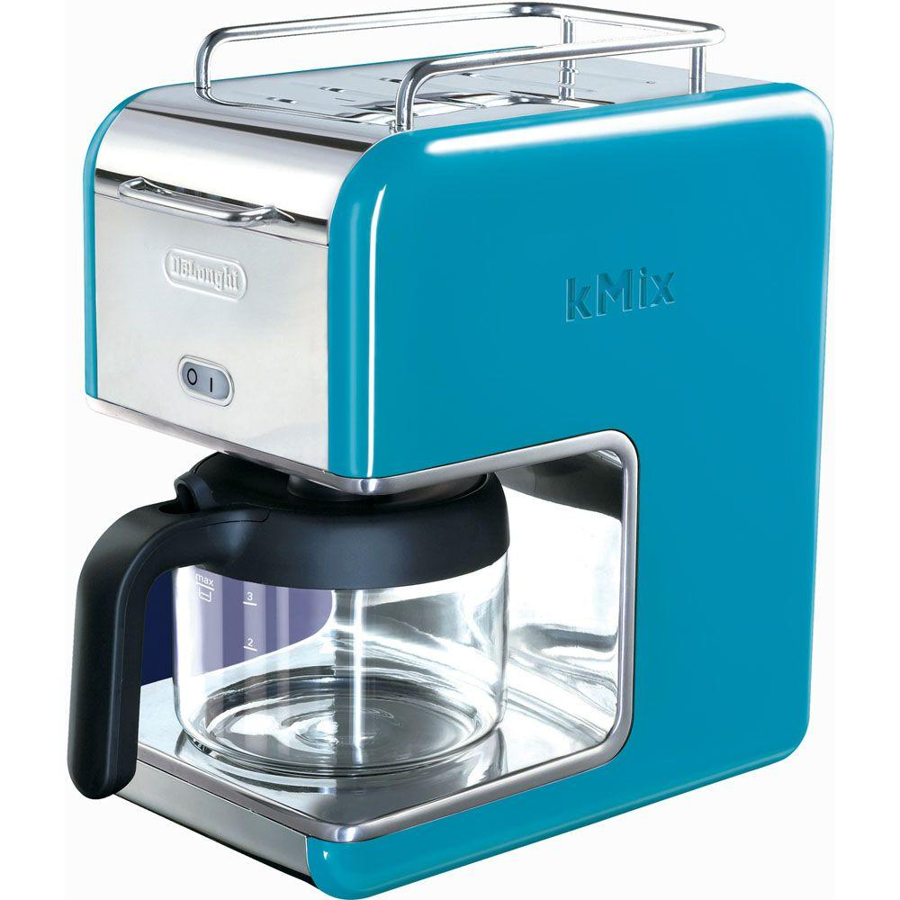 DeLonghi Kmix 5-Cup Coffee Maker in Blue-DISCONTINUED