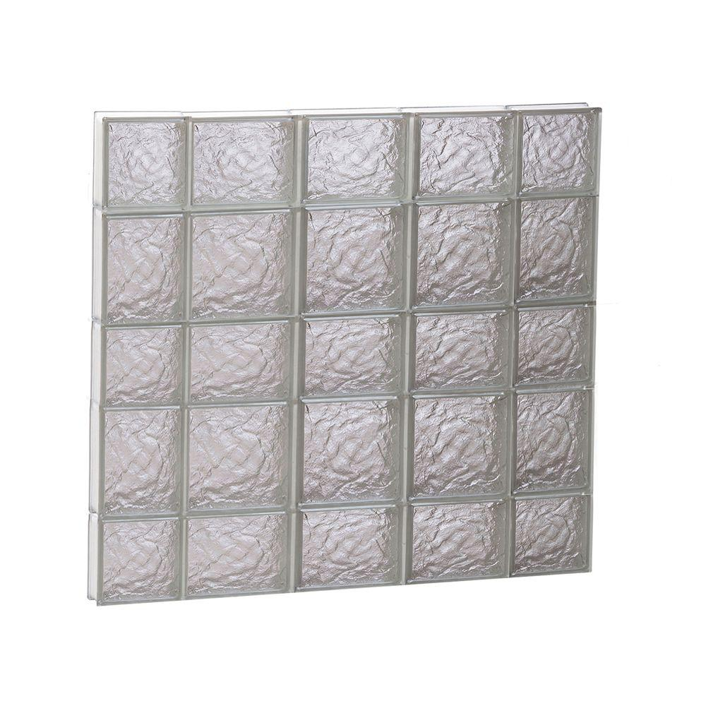 Clearly Secure 34.75 in. x 32.75 in. x 3.125 in. Frameless Ice ...