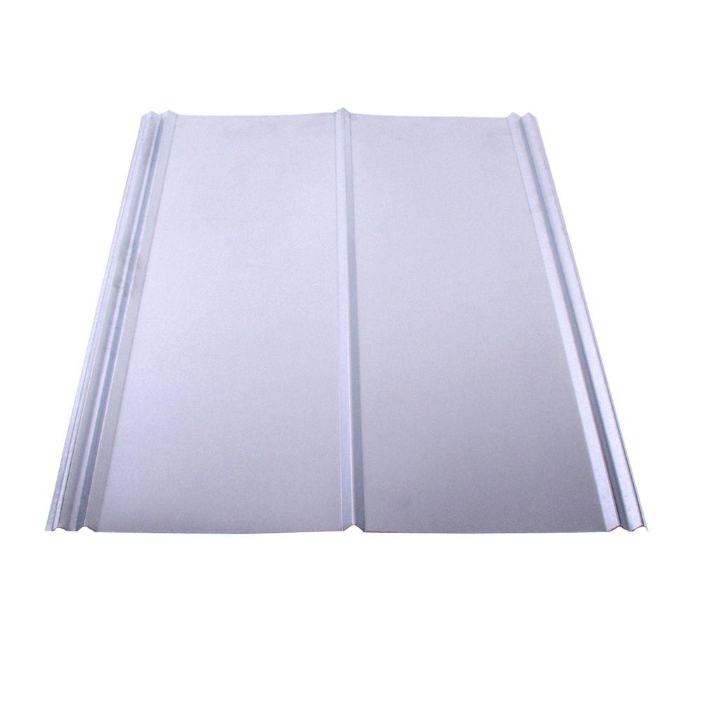 26 in. x 12 ft. Galvanized Steel 5V Crimp Roof Panel