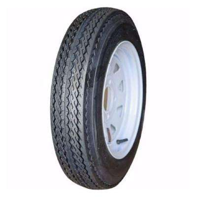 4 Hole LRC 80 PSI 5.3 in. x 12 in. 4-Ply Tire and Wheel Assembly