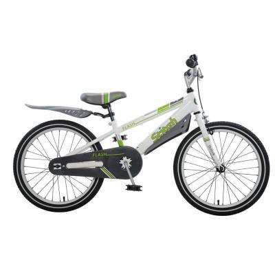 Flash Boy's Bike, 20 in. wheels, 11 in. frame in Grey
