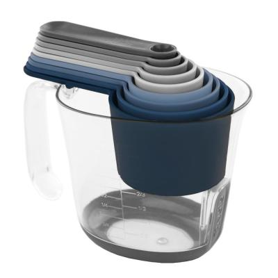 Magnetic Nested Measuring Cup Set System