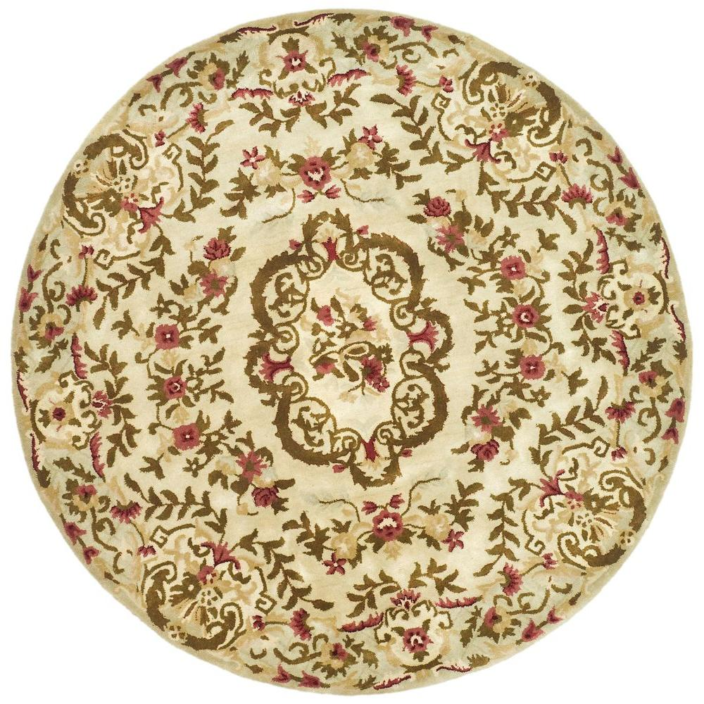 Safavieh Classic Assorted 6 ft. x 6 ft. Round Area Rug