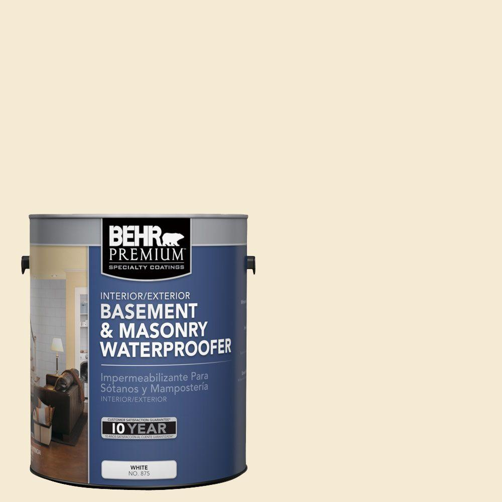 BEHR Premium 1 gal. #BW-12 Dried Husk Basement and Masonry Waterproofer