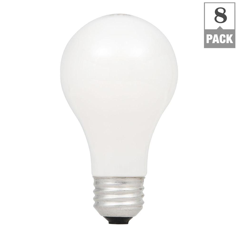 100-Watt Equivalent A19 Dimmable Double Life Eco-Incandescent Light Bulb, Soft
