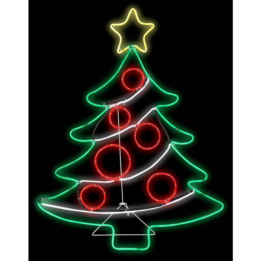 2 ft. W x 3 ft. H Light Glo Christmas Tree w/Star