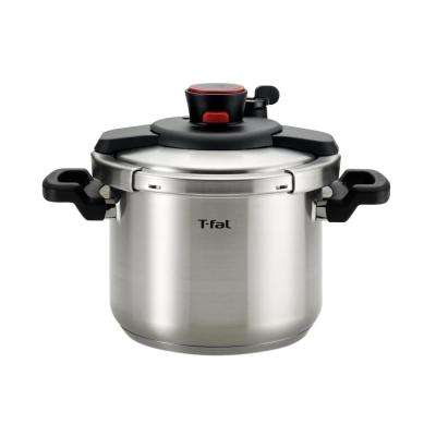 Clipso 6.3 Qt. Pressure Cooker in Stainless Steel