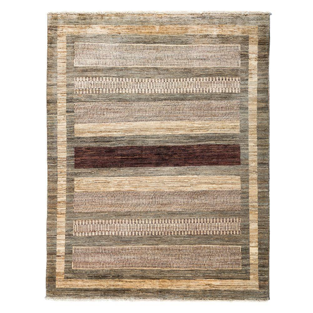 Darya Rugs Modern Brown 5 ft. x 6 ft. 4 in. Indoor Area Rug