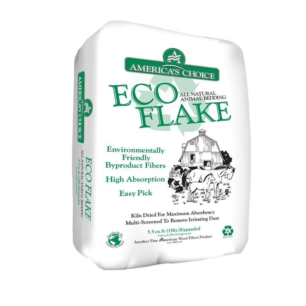 3 cu. ft. Eco Flake Pine Shavings Bedding