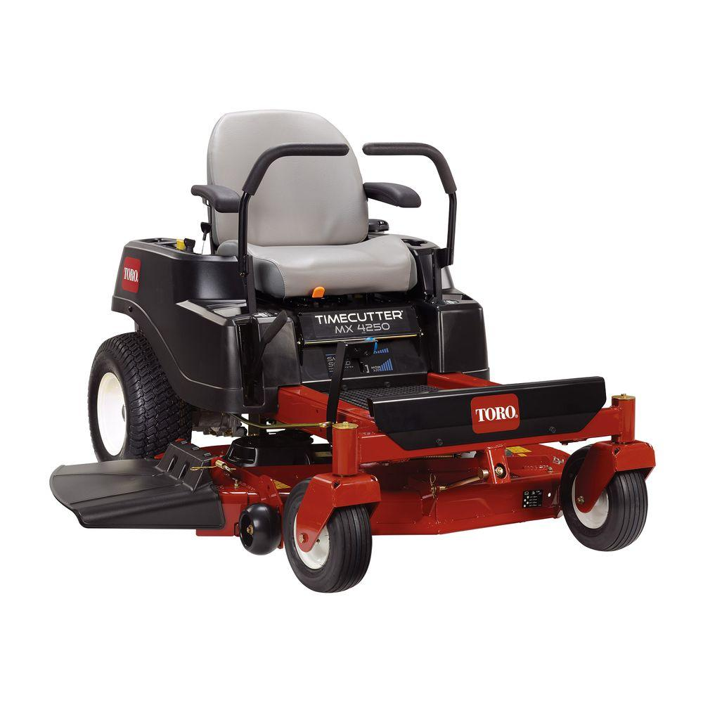 Toro TimeCutter MX4250 42 in. Fab 24.5 HP V-Twin Gas Zero...