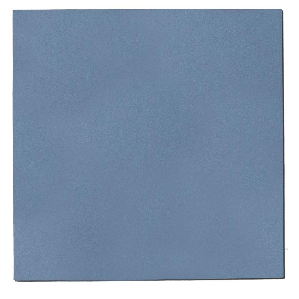 1.125 in. x 24 in. x 24 in. Blue Fabric Square