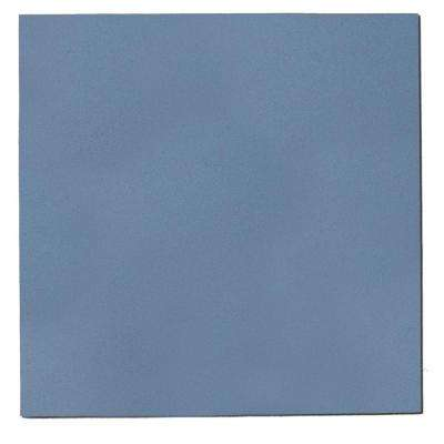 1.125 in. x 24 in. x 24 in. Blue Fabric Square Acoustic Sound Absorbing Wall Panels (2-Pack)