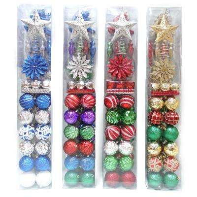 Ornaments Set, Assorted with 4 Asset (100-Count)