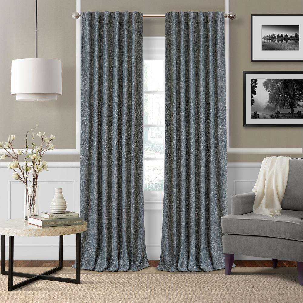 Elrene Colton Woven Room Darkening Window Curtain