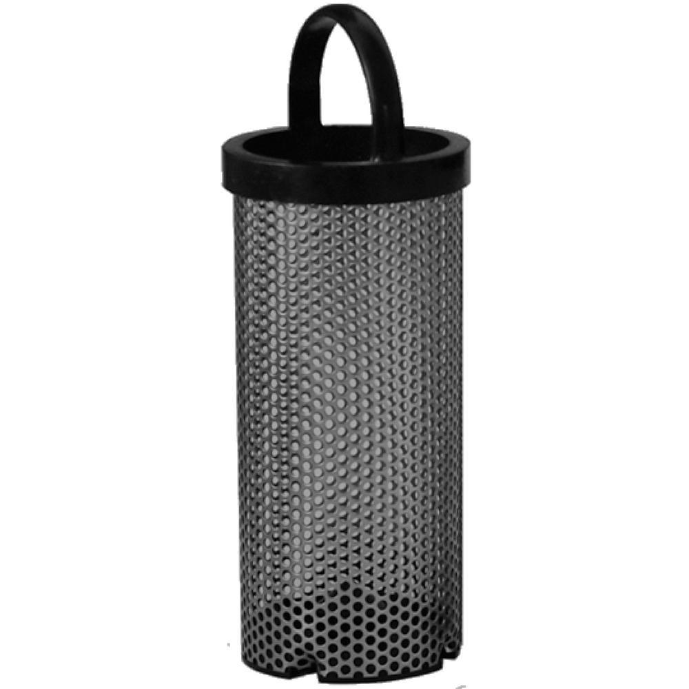 3.1 in. x 15.5 in. Monel Filter Basket