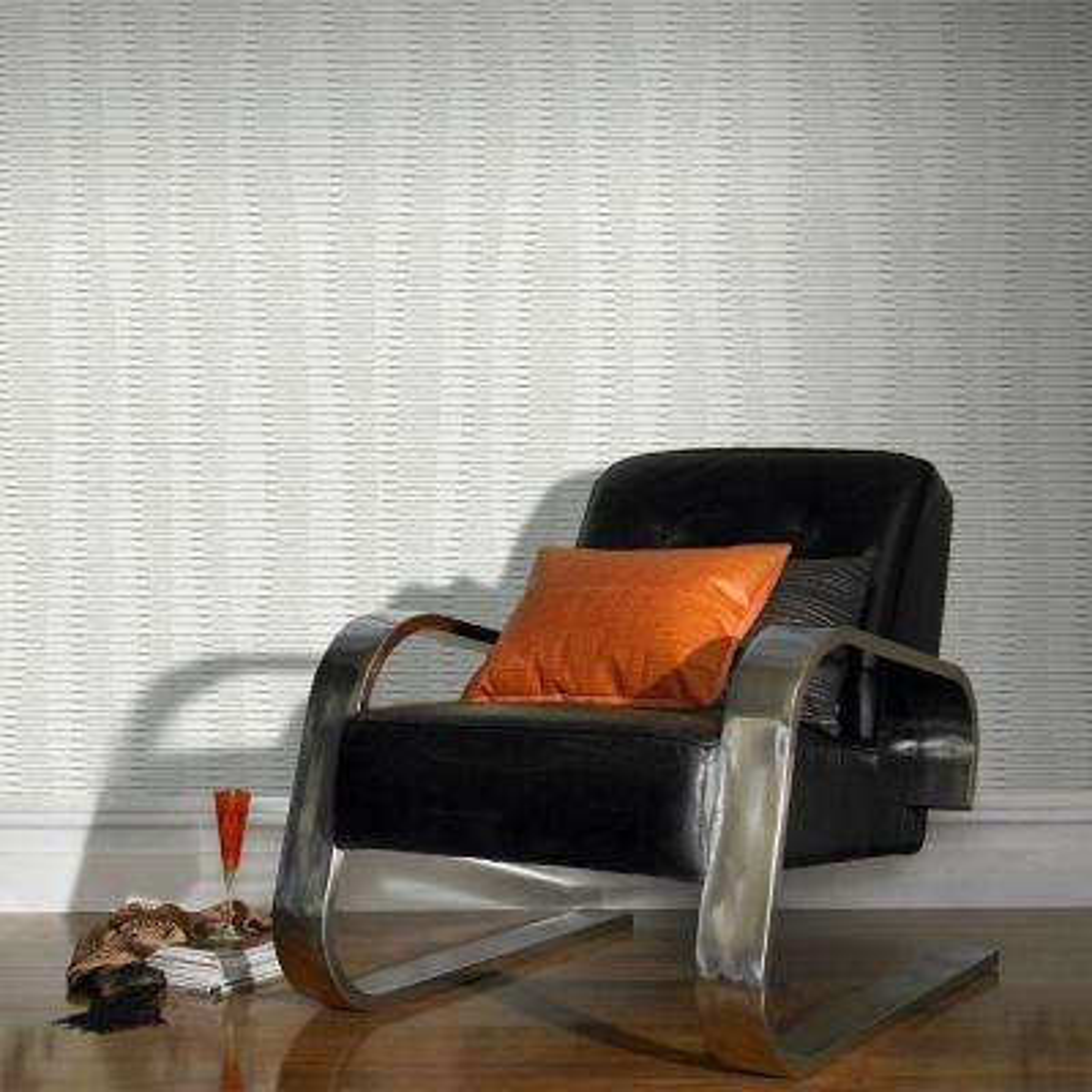 Aria White Wallpaper Sample