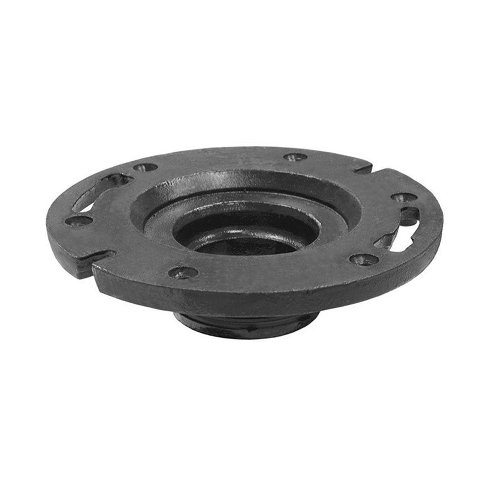 null 4 in. x 2 in. Cast Iron Water Closet Flange