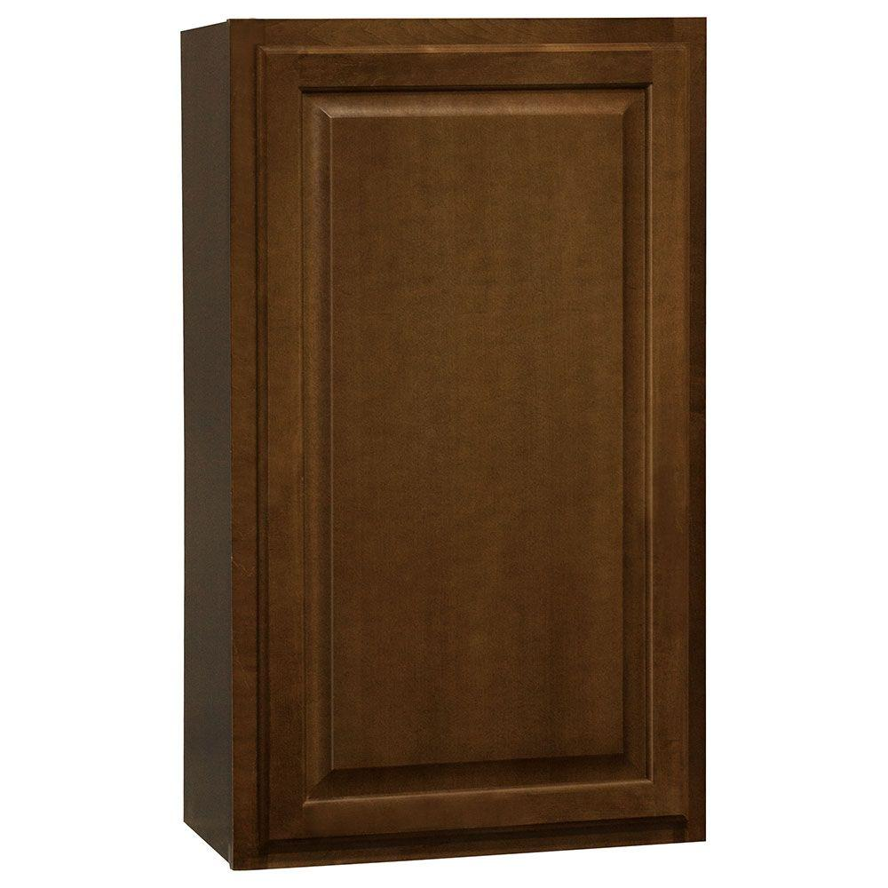 Hampton Bay Kitchen Cabinets Cognac: Hampton Bay Hampton Assembled 21x36x12 In. Wall Kitchen