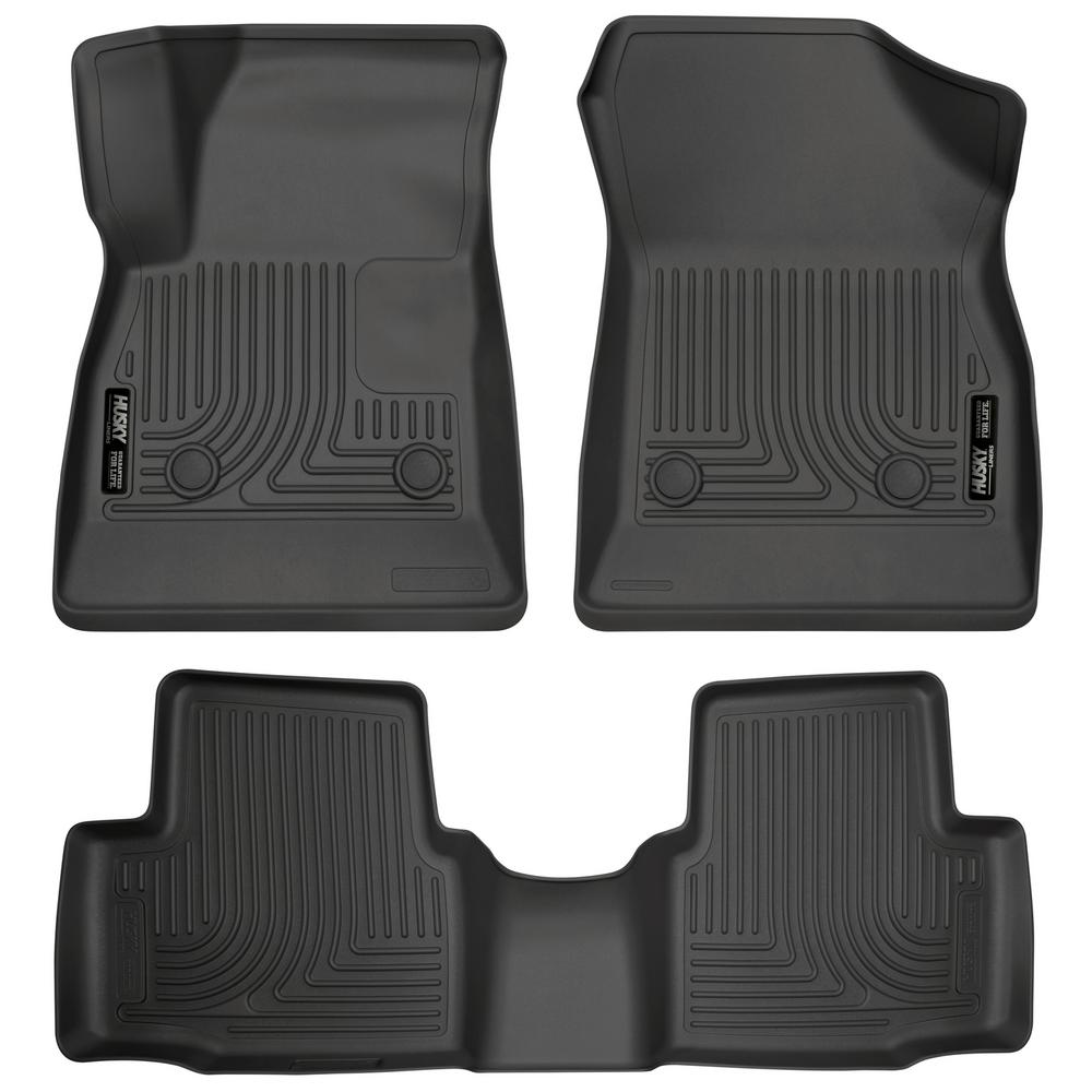 Husky Liners Front Amp 2nd Seat Floor Liners Fits 16 18