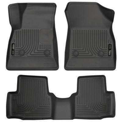 Front & 2nd Seat Floor Liners Fits 16-18 Cruze