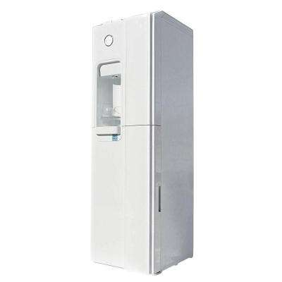 Standup Bottleless Water Cooler in Ice White With Sediment, Pre Carbon and Post Carbon Filters