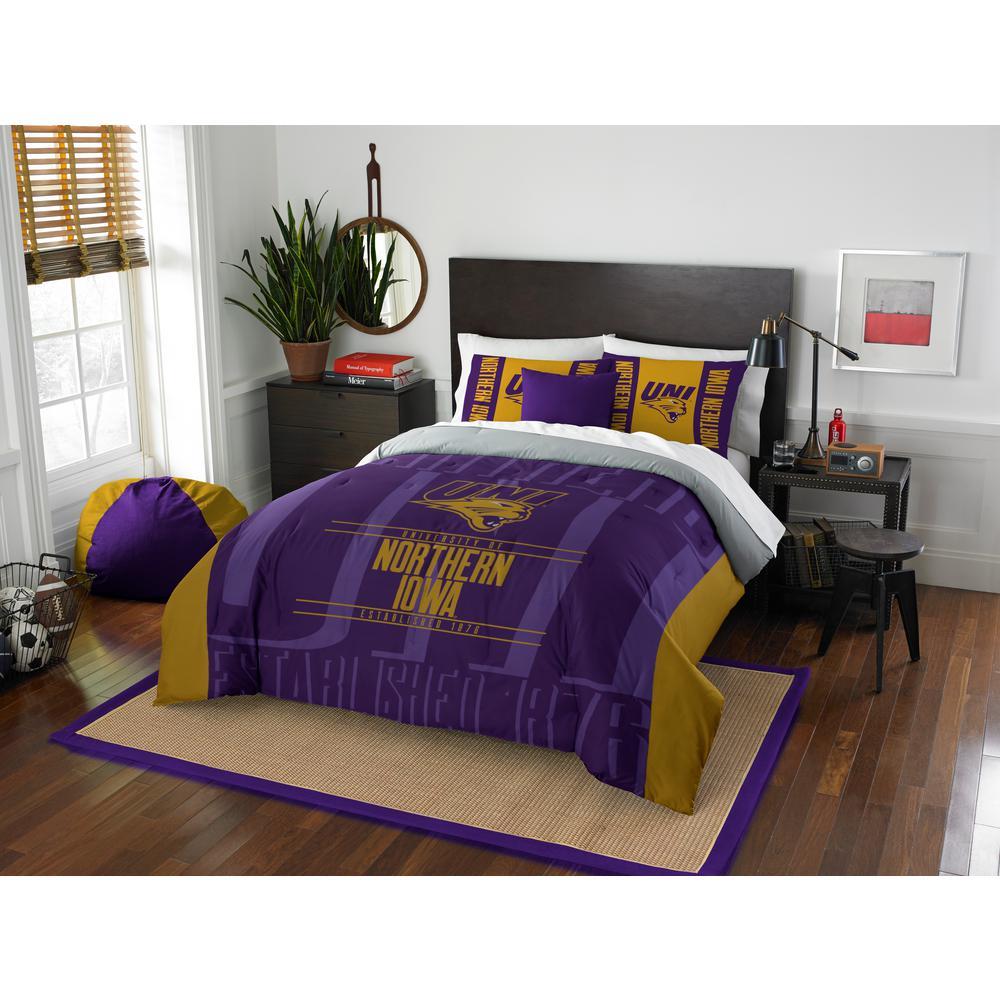 Northern Iowa 3-Piece Modern Take Multi Full/Queen Comforter Set