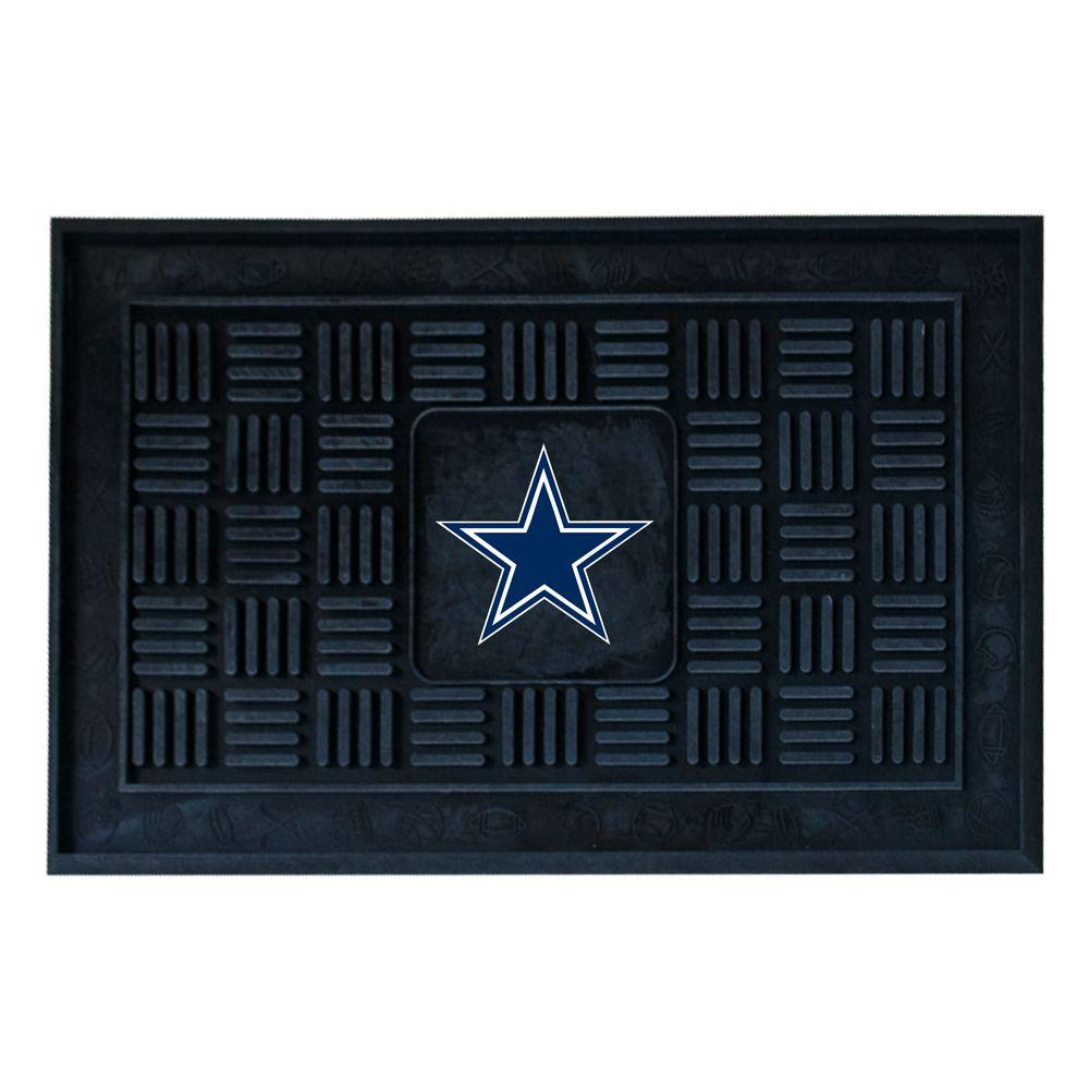 FANMATS Dallas Cowboys 18 In. X 30 In. Door Mat-11440