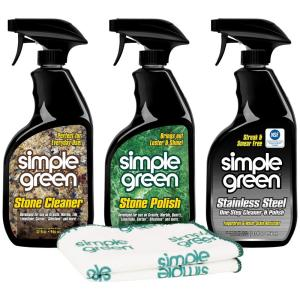 Simple Green Kitchen Specialty Care Combo Kit