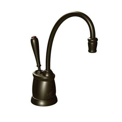 Indulge Tuscan Single-Handle Instant Hot Water Dispenser Faucet in Oil Rubbed Bronze