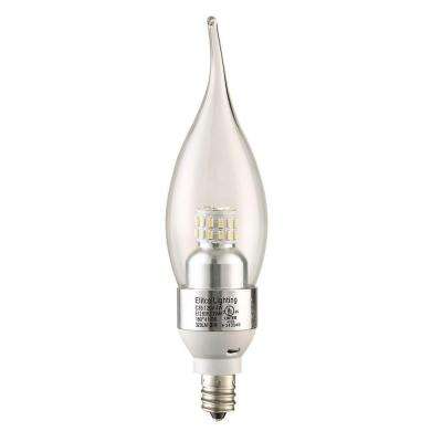 35W Equivalent Soft White E12 Dimmable LED Light Bulb