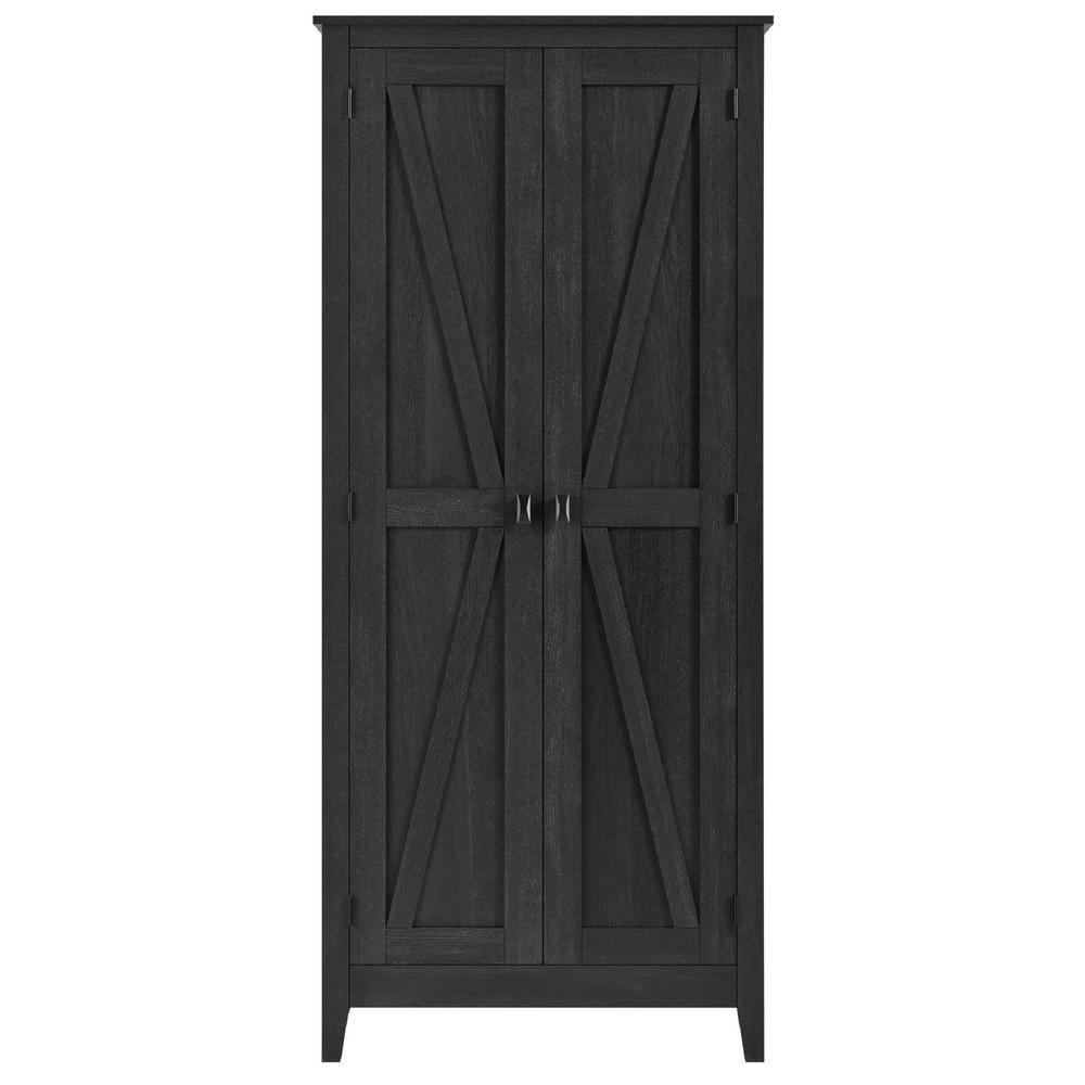 Brownwood 31.5 in. Wide Smokehouse Storage Cabinet