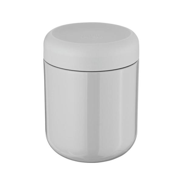 Leo .53 Qt. Gray Food Container