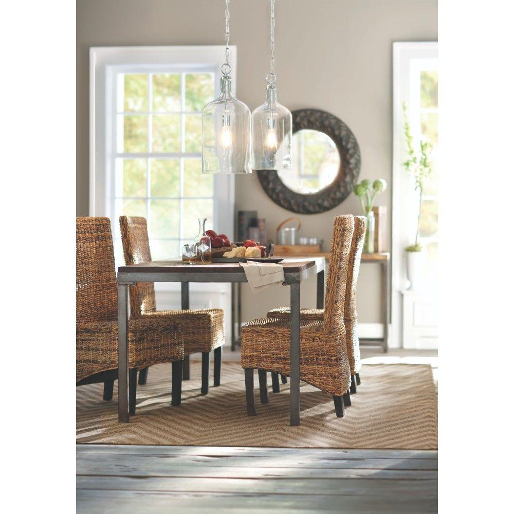 A r t furniture greenpoint oval dining table in coffee bean - Home Decorators Collection Holbrook Coffee Bean Dining Table 0179900950 The Home Depot
