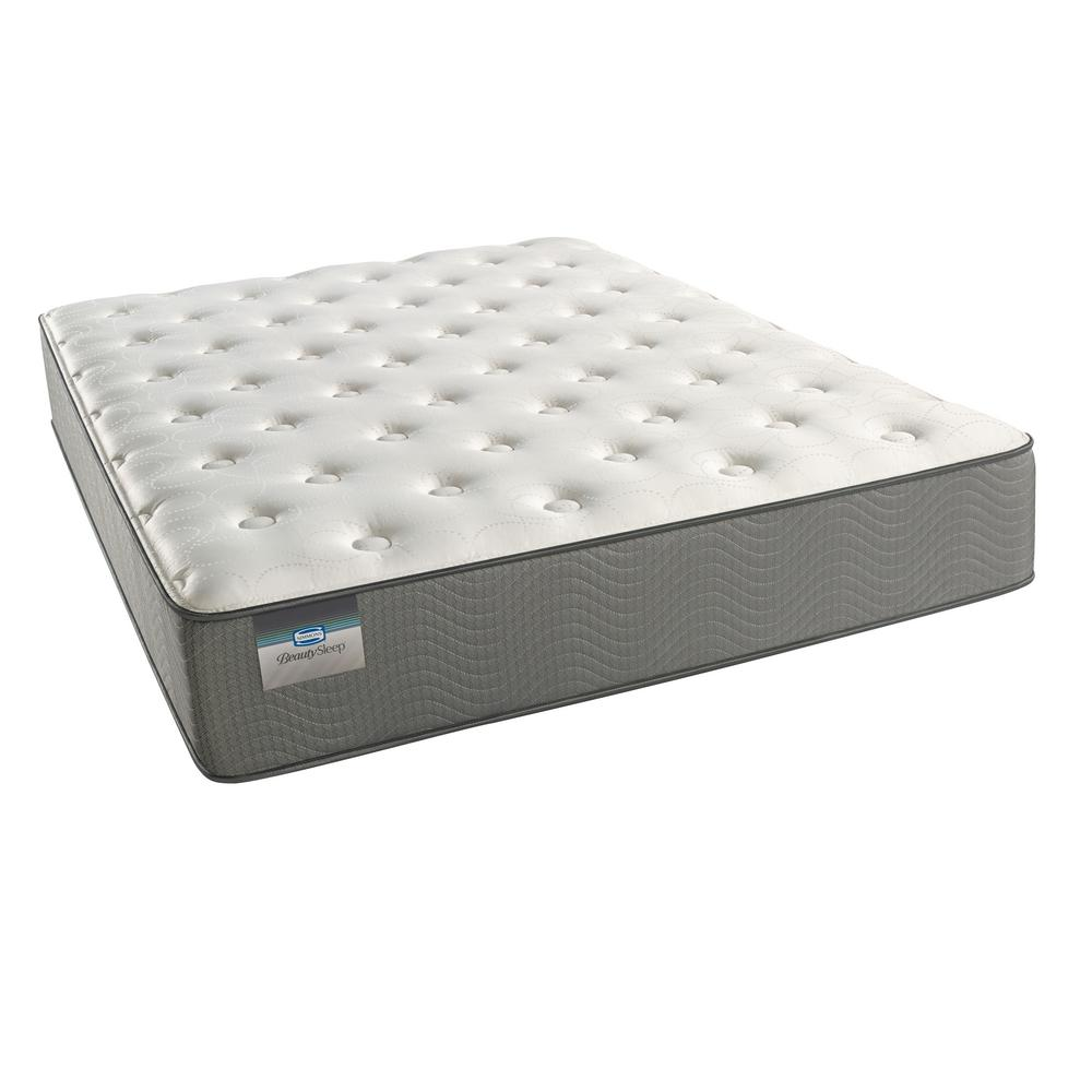 Simmons Beautysleep Marina Bay Twin Plush Mattress Set 700753228 9910 The Home Depot