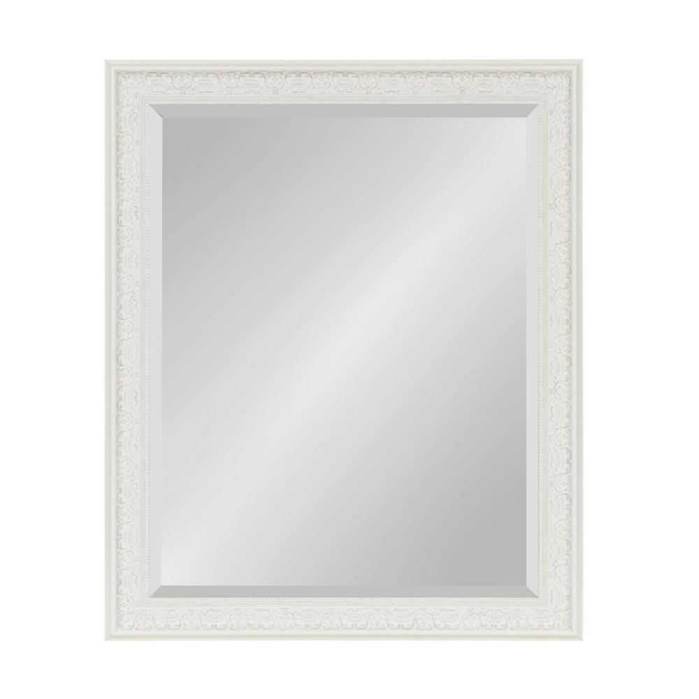Alysia Rectangle White Mirror