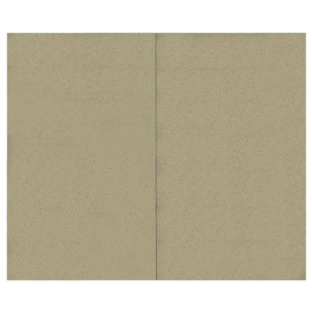 SoftWall Finishing Systems 44 sq. ft. Alabaster Fabric Covered Top Kit Wall Panel