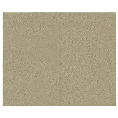 44 sq. ft. Alabaster Fabric Covered Top Kit Wall Panel