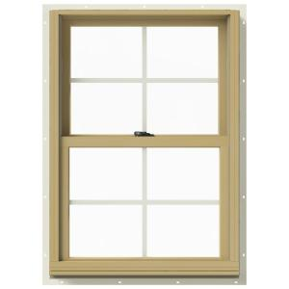 Jeld wen in x 36 in w 2500 double hung aluminum for Buy jeld wen windows online